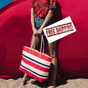💥2 for $25💥canvas beach bag